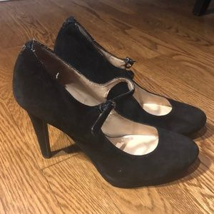 Black Guess Mary Jane Pumps
